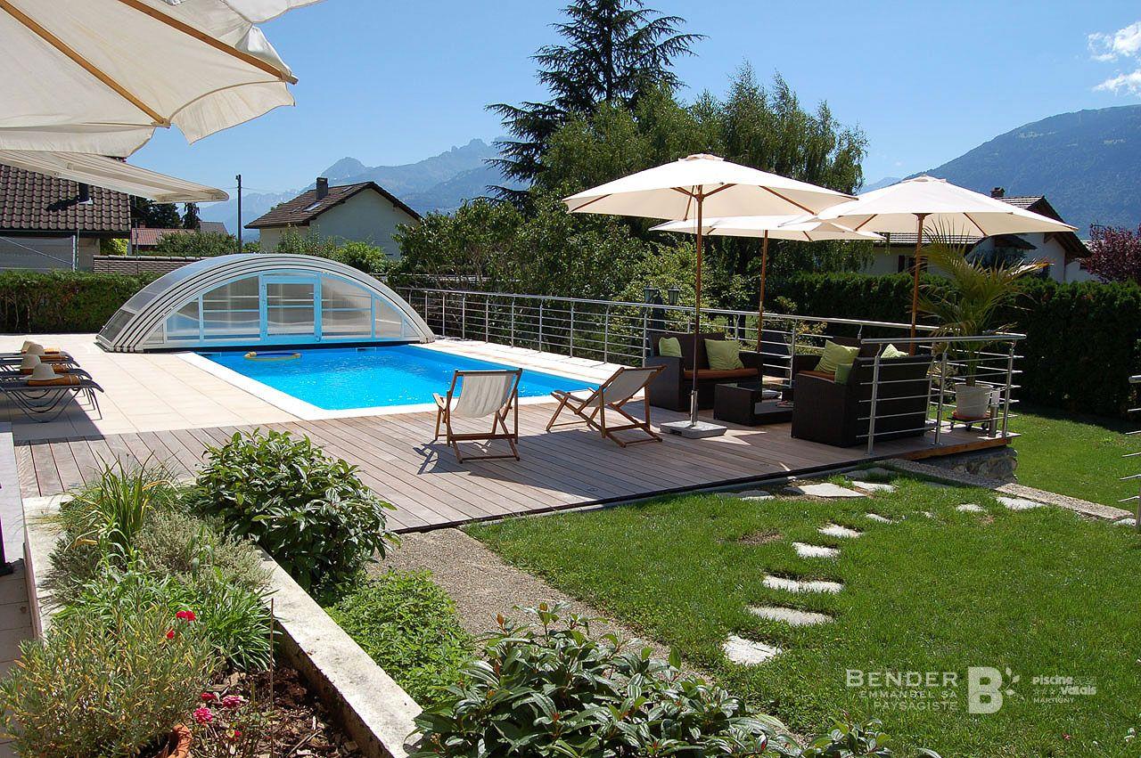 piscine aigle nos r alisations bender paysagisme. Black Bedroom Furniture Sets. Home Design Ideas