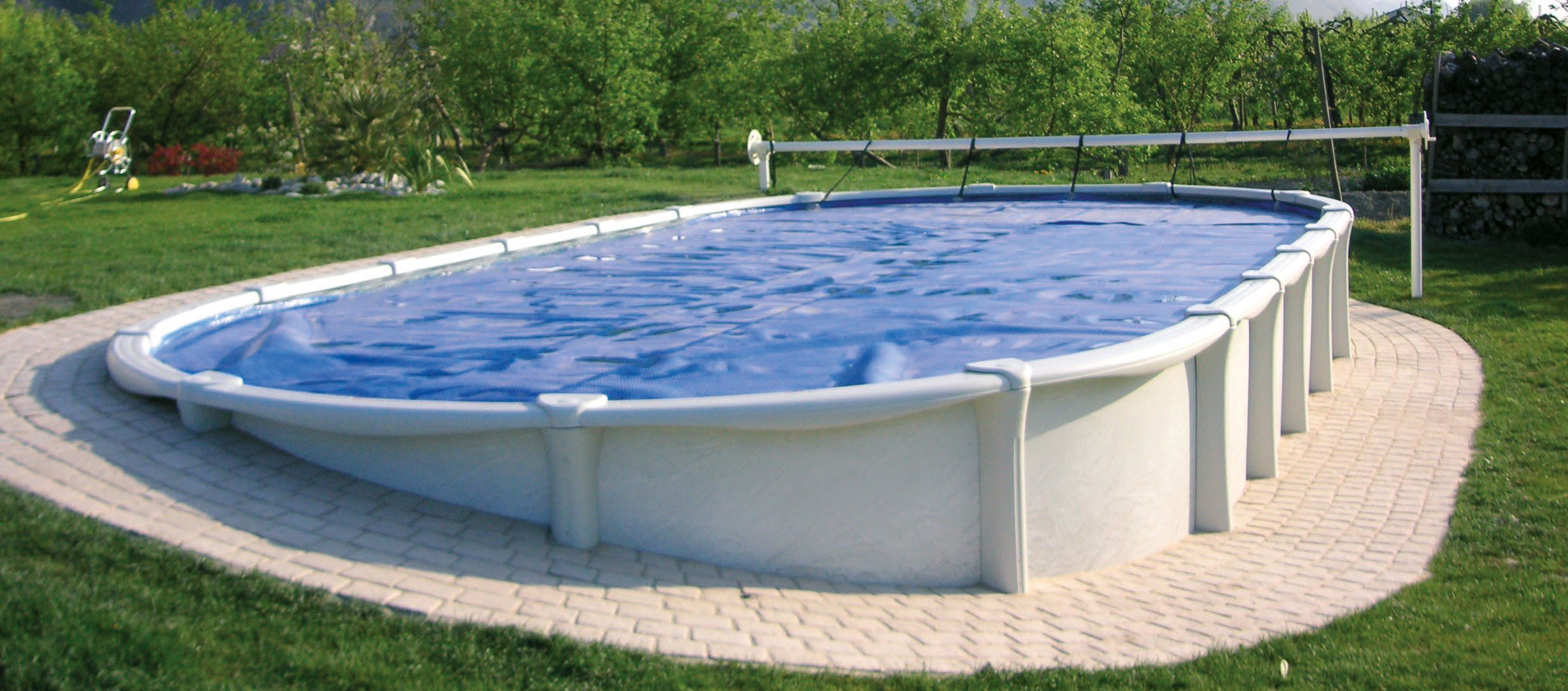 Piscine hors sol piscine for Prix dome piscine